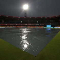 Royal Challengers Bangalore's clash against Sunrisers Hyderabad called-off due to rain