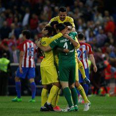 La Liga roundup: Villarreal stun Atletico Madrid at home with Soriano's late winner
