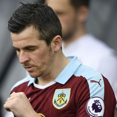 Burnley's Joey Barton banned for 18 months over betting charges