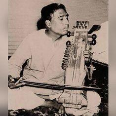 Listen: These performances show Pakistani sarangi maestro Nathu Khan's mastery over the technique