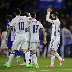 Copa del Rey: Isco, Asesnio, Vinicius Jr strike as Real Madrid rout Melilla 6-1