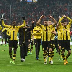 Dortmund stun Bayern Munich 3-2 in German Cup semi-final