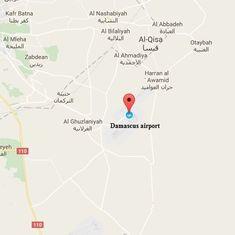 Syria: Several suspected Israeli strikes target Damascus airport area