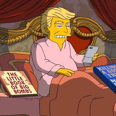 Watch: 'The Simpsons' takes on Trump's 100 days with a hilarious spoof (and so do others)