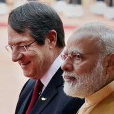India, Cyprus sign four pacts, decide to act against 'violence factories'