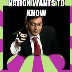 Readers' comments: The phrase 'nation wants to know' had an effect only with Arnab Goswami's magic