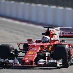Russian Grand Prix: Ferrari's Sebastian Vettel posts fastest times in second free practice