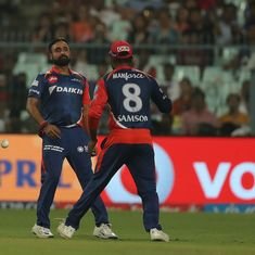 The dropped catch off Uthappa cost us the match, says Delhi Daredevils' Sanju Samson