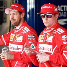 Sebastian Vettel on pole as Ferrari clinch one-two grid position for Russian Grand Prix