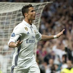No one has sent us an offer for either Cristiano or anyone else, says Real Madrid president