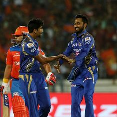 From Bumrah's nerveless bowling to Faulkner's Super Over history, the best stats from GL vs MI