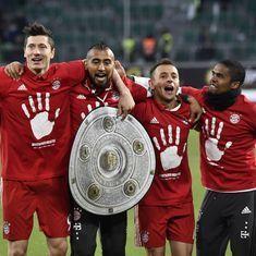 Rampant Bayern Munich clinch fifth straight Bundesliga title
