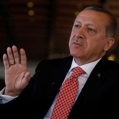 Turkish President Erdogan vows legal action against 'Charlie Hebdo' for 'disgusting' cartoon