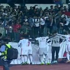 Aizawl FC are the I-League champions for the season 2017