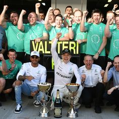 It was 'worth the wait': Valtteri Bottas after winning his maiden Grand Prix in 81st race