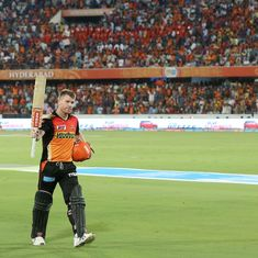 Both with bat and as captain, David Warner is bringing a much-required calmness to Hyderabad