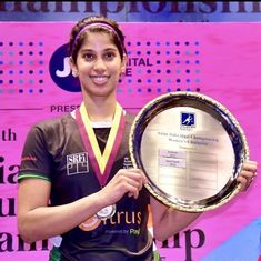 Squash: Joshna Chinappa wins record-equalling 16th national title; Mahesh Mangaonkar bags first