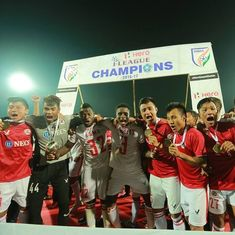 The absolutely stunning, crazy numbers from Aizawl's magical I-League winning season