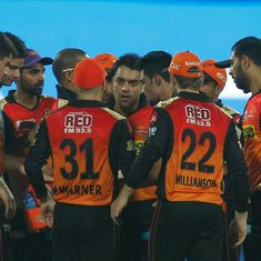 IPL 10: Sunrisers Hyderabad's reticent showing in away ties could cost them title defence