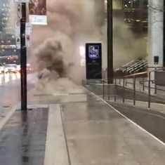 Watch: This pedestrian in Toronto could have died from an explosion but filmed it anyway