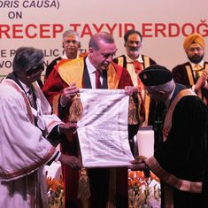 Readers' comments: Honorary doctorates, like Nobel Peace Prizes, are just political appeasement
