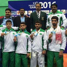 'Terrorism, sports can't go together': Sports minister after India denies Pakistan wrestlers visas
