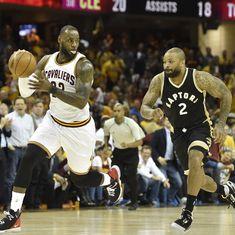NBA Playoffs: Cleveland Cavaliers thrash Toronto Raptors 125-103 to take 2-0 lead