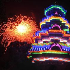 Fireworks show to go on at Kerala's Thrissur Pooram temple festival – but with a little less sparkle