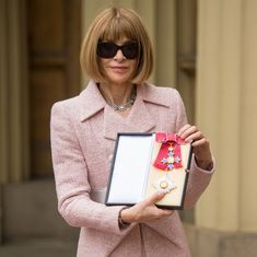 Vogue editor Anna Wintour made a Dame Commander by Queen Elizabeth II