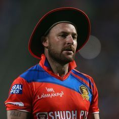 Gujarat Lions' Brendon McCullum ruled out of IPL 10 with hamstring injury