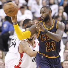 NBA playoffs: Cleveland Cavaliers win third game on the trot as Raptors lose 115-94