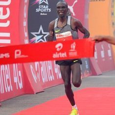 Eliud Kipchoge almost runs a sub-two hour marathon in Monza