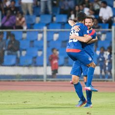 I-League in numbers: Which club had the lowest percentage of goals scored by foreigners?
