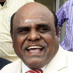 Kolkata: Former Calcutta High Court judge CS Karnan launches political party