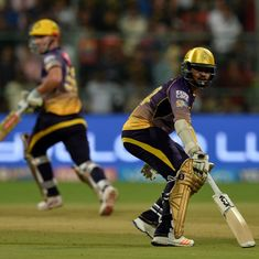 The stunning numbers behind Sunil Narine and Chris Lynn's 105-run assault against RCB