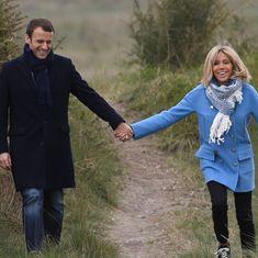 फ्रांस के नए राष्ट्रपति अपनी असाधारण प्रेम कहानी के लिए भी चर्चा में हैं
