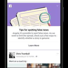 Facebook puts out newspapers ads to teach people how to spot fake news as UK elections approach
