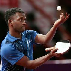 Anthony Amalraj, Sutirtha Mukherjee clinch titles in National Ranking table tennis meet