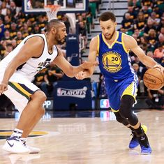 Stephen Curry stars as Golden State Warriors complete 4-0 sweep of Utah Jazz