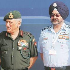 वायु सेना और नौसेना प्रमुख को भी अब ज़ेड-प्लस सुरक्षा
