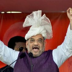 Amit Shah asks BJP to aim for 350-plus seats in the 2019 Lok Sabha elections