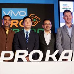 Vivo signs five-year sponsorship deal with Pro Kabaddi worth Rs 300 crore