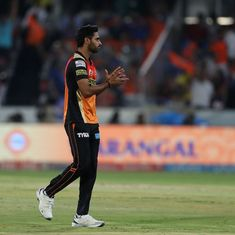 'I don't bowl with the intention of taking wickets': Bhuvneshwar Kumar, IPL 2017's Purple Cap holder