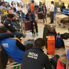 Customs to probe why India's shooting team was held up at Delhi airport for 13 hours