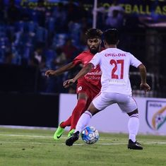 Aizawl FC become the first team to qualify for the semi-finals of the Federation Cup