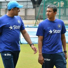 Sanjay Bangar and R Sridhar to remain on India's coaching staff for Champions Trophy