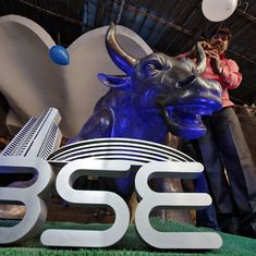 Sensex falls 148 points, Nifty 36 as rupee hits three-week low, geopolitical tensions continue