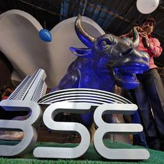 Sensex, Nifty50 reverse morning gains after RBI keeps interest rates unchanged