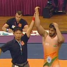India's Harpreet Singh wins bronze at Asian Wrestling Championships
