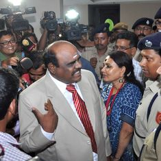 Kolkata: Retired justice CS Karnan lodged in Presidency Jail after SC rejects his bail plea